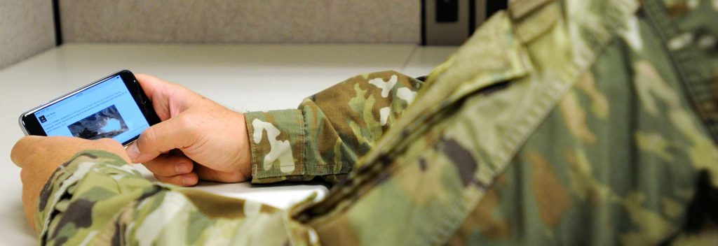 soldier on dating website